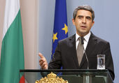 Bulgaria President Plevneliev — Stock Photo