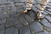 Bulgarien traditionella sandaler — Stockfoto