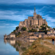 Le Mont Saint-Michel — Stockfoto
