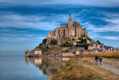 Le Mont Saint-Michel — Stock Photo