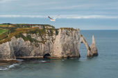 Etretat cliffs — Foto Stock