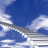 The stairway to heaven — Stock Photo