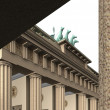 Stock Photo: Brandenburg Gate 4