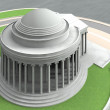 Jefferson Memorial 7 — Stock Photo