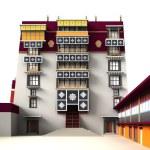 Potala palace — Stock Photo #27908915