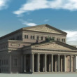 Stock Video: Bolshoi Theatre