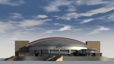 König Pilsener Arena — Stock Video
