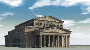 Bolshoi Theatre — Stock Video