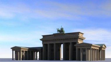 Brandenburg Gate — Stock Video
