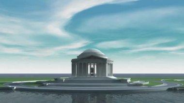 Jefferson Memorial — Stock Video