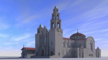 Mission Dolores — Stock Video