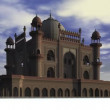 Tomb of Safdarjung — Stock Video