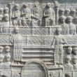 The base of the Obelisk of  Theodosius in Istanbul Turkey — ストック写真