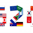 G20 Major Economies — Stock Photo