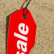 Stock Photo: Sale Tag Summer Concept