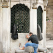 Preparing for prayer in Istanbul Turkey — Stock Photo