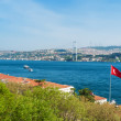 Bosphorus Istanbul Turkey — Stock Photo