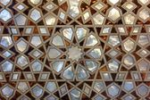 Mother of pearl mosaic from istanbul — Stock Photo