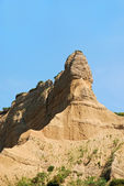 Sphinx shaped historically famous hill in Gallipoli Turkey — Stock Photo