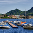 Como italy lake - Stock Photo