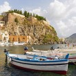 Lipari isle eolie sicily italy — Stock Photo