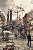 Sagrada familia барселона испания — Стоковое фото