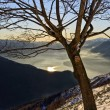 Stock Photo: Winter mountain scenery landscape italy snow