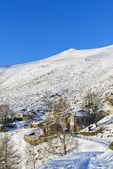 冬山风光山水意大利雪 — 图库照片