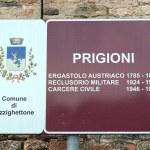 Pizzighettone old wall prison jail italy — Stock Photo