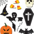 Stock Vector: Halloween item
