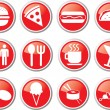 Royalty-Free Stock Vector Image: Food icon set