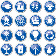 Energy icon set — Stock Vector #20782595