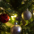Stock Photo: Christmas ornament background