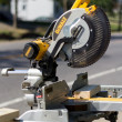 DeWalt miter saw - Stock Photo