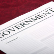 Stock Photo: Government document
