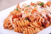 Rotinis pasta close-up — Stock Photo