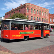 Amelia Island Bus — Stock Photo