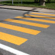 Stock Photo: Crosswalk line