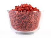 Simulated bacon bits — Stock Photo