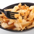 Poutine — Stock Photo