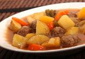 Beef stew — Stock Photo