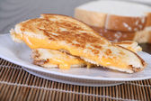 Grilled cheese sandwich — Stock Photo