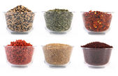Spices and ingredients — Stock Photo
