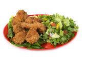 Alitas de pollo frito — Foto de Stock