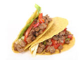 Beef tacos shell — Stock Photo
