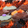 Royalty-Free Stock Photo: Halloween cupcakes