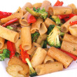 Stock Photo: Vegetable rigatoni