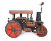 Old steamroller toy — Stock Photo