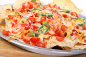 Cheese nachos — Stock Photo