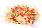 Cheese nachos — Stock Photo
